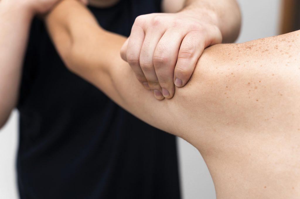 Fisioterapia para lesión de Manguito Rotador